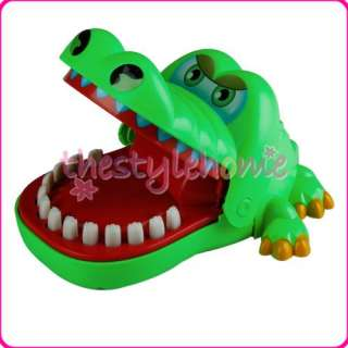 Crocodile Mouth Dentist Bite Chomper Toy Kid Party Game