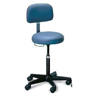 Hausmann Hand Controlled Air Lift Stool with Backrest