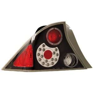 Anzo USA 321033 Honda Civic Black LED Tail Light Assembly   (Sold in