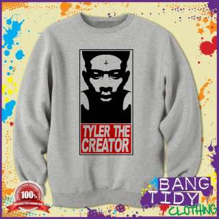 Hip Hop Music Mans Sweatshirt Featuring Tyler The Creator Obey Style