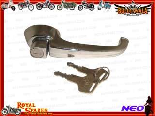 MORRIS OXFORD 1950s HIGH QUALITY LOCKING DOOR HANDLES DOUBLE CHROMED
