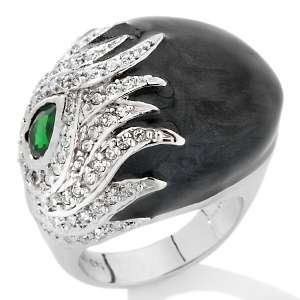 IMAN Global Chic Earth, Wind and Fire Crystal Knock Out Ring