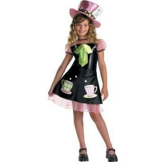 Mad Hatter Child Costume   Includes Dress with attached petticoat