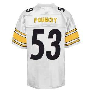 NFL Jerseys #53 Maurkice Pouncey WHITE Authentic Football Jersey