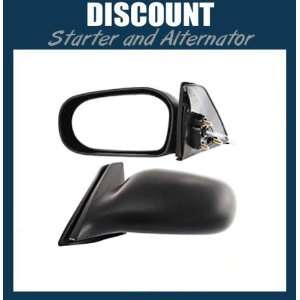 New Driver Side Mirror LH, 1995 1996 Toyota Tercel, Manual Remote, Non
