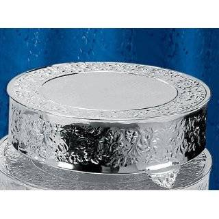 Metal Glass Wedding Cake Stand Platter Tray 22 Kitchen