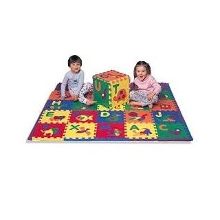 Alphabet ABC 123 Baby Kids Puzzle Play Mat   110 Piece Set Large Baby