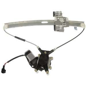 114 Dodge Dakota Front Driver Side Power Window Regulator with Motor