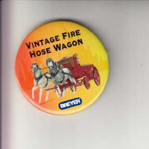 Vintage Fire Hose Pin 2000? 2.25 promotional pin