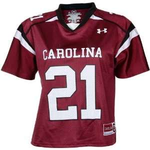 Under Armour South Carolina Gamecocks #21 Womens Replica Football