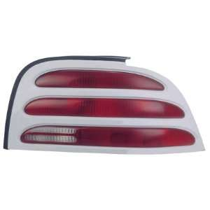 94 95 FORD MUSTANG Right Tail Light (W/ WHITE RIM) Passenger (1994 94
