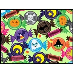 Fun Halloween Candy Postage Stamp