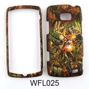 LG Ally vs740 Camo/Camouflage Hunter Series, w/ Deer Hard Case/Cover