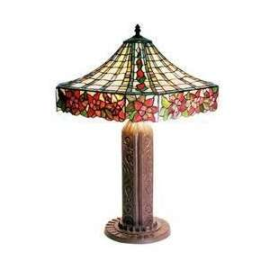 Tiffany style Rose Mission style Table Lamp Electronics
