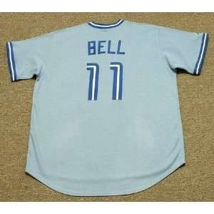 Jays Majestic Cooperstown Throwback Baseball Jersey