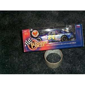 Winners circle Superman car 1/24 scale Jeff Gordon nascar