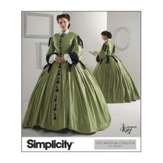 com Simplicity 2887 Sew Pattern MISSES CIVIL WAR DRESS / GOWN COSTUME