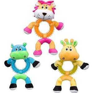 Rubber Ring Belly Friends Plush Dog Toy