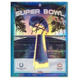 Peyton Manning Autographed Super Bowl x LI Program