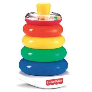 Fisher Price Brilliant Basics Rock a Stack Toys & Games