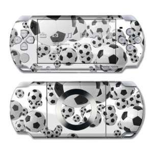 Lots of Soccer Balls Design Skin Decal Sticker for the PS3