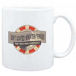 Mug White  Soft Coated Wheaten Terrier THE INVASION CONTINUES  Dogs