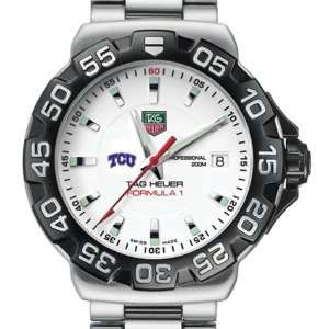 Texas Christian University TAG Heuer Watch   Mens Formula 1 Watch
