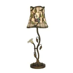 Dale Tiffany TB10088 Buffet Lamp, LED, Dark Antique Brass