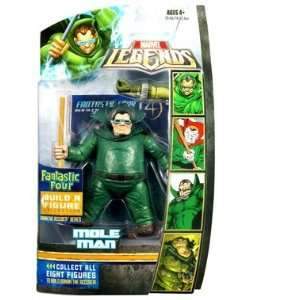 Marvel Legends Fantastic Four Action Figure Mole Man Toys & Games
