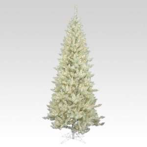 White Sage Pine Slim Pre lit Christmas Tree
