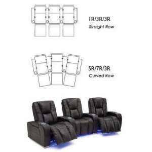 Mellow Home Theater Seating Row of Three Seats