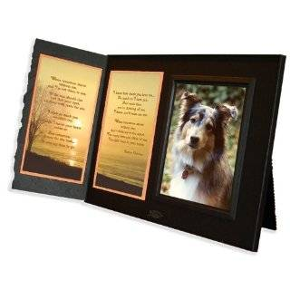 Tomorrow Poem Pet Loss Sympathy Picture Frame Gift and Memorial