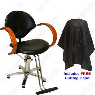 HYDRAULIC BARBER CHAIR STATION MAT HAIR DRYER SHAMPOO BOWL SINK SALON