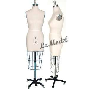 Half Body Female Dress Form Size 20 mannequins Office