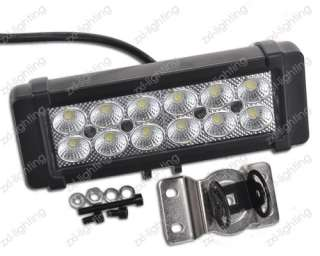 Offroad Bar Lamp Flood Beam Truck Boat Car ATV Mining 12V 24V