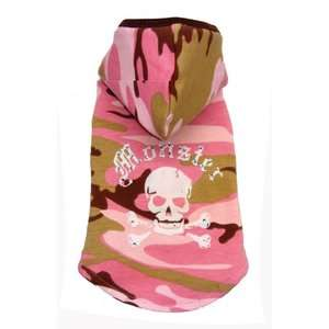 Hip Doggie Monster Dog Hoodie in Pink Camo Dogs