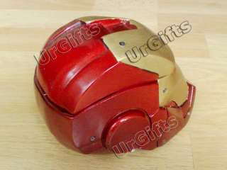 Iron Man Helmet Mask LED Ashtray Trinket Box Mark II