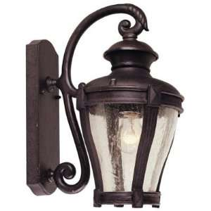 Hampton Bay Wall Mount Outdoor Bronze Lantern HD273207