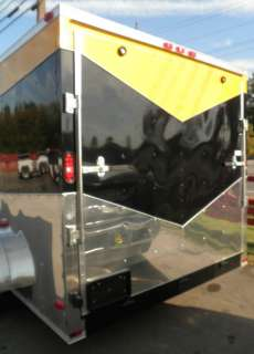 NEW 7.0 x 16 CUSTOM ENCLOSED CAR EQUIPMENT HAULER MULTI COLOR